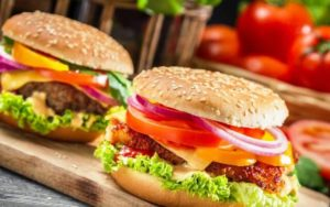 coffeebean burgers fast food eviadelivery χαλκίδα