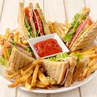 club-sandwich fast food eviadelivery χαλκίδα